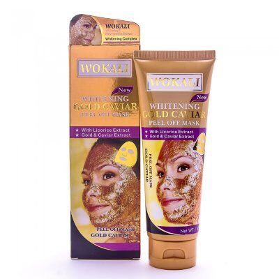 Золотая маска Gold mask Whitening Gold Caviar Peel