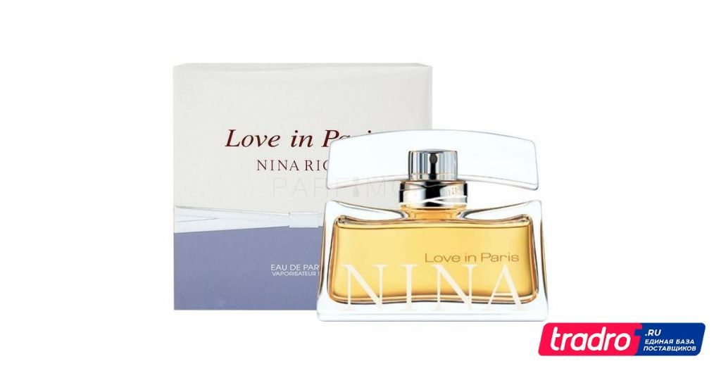 Love In Paris EDP, 30 мл Nina Ricci