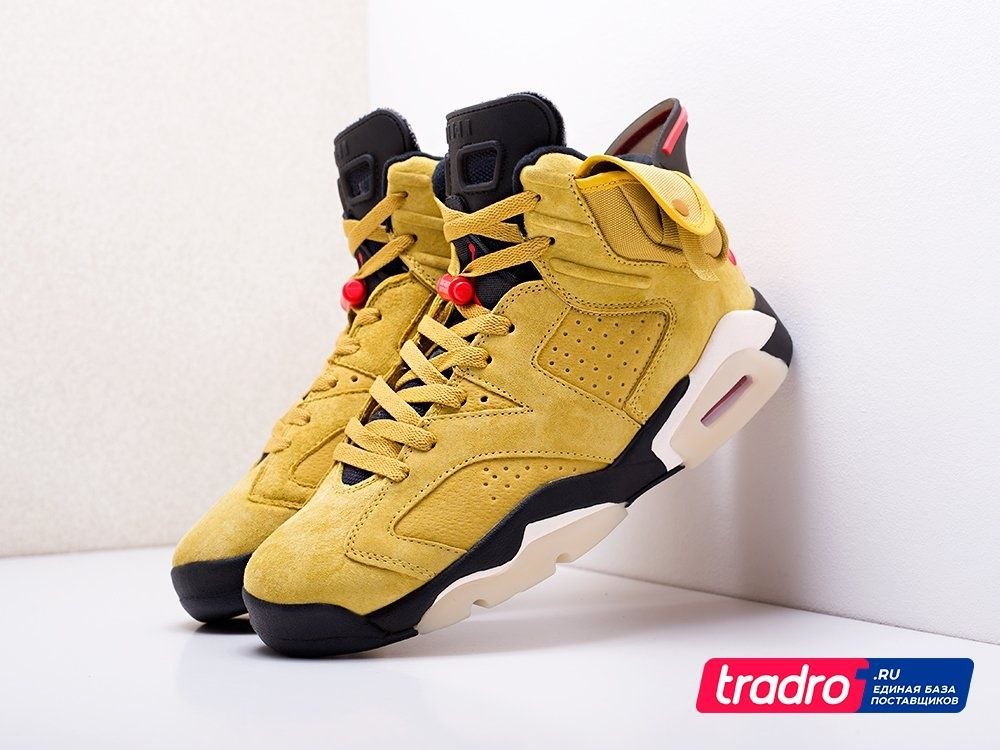 Кроссовки Nike x Travis Scott Air Jordan 6 Артикул: 17821 / NIKE