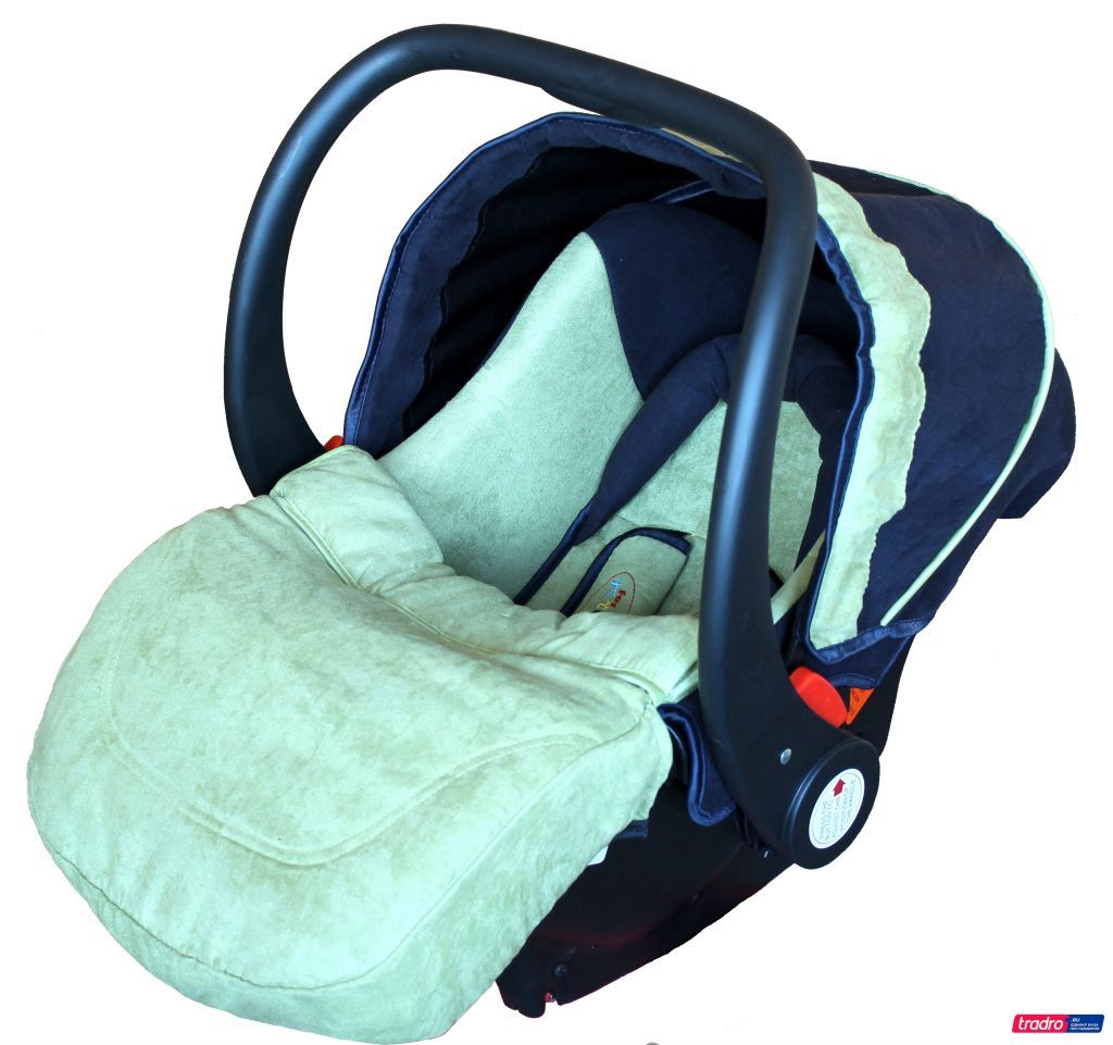 Автолюлька ForKiddy Little One Green (в комплекте с базой)